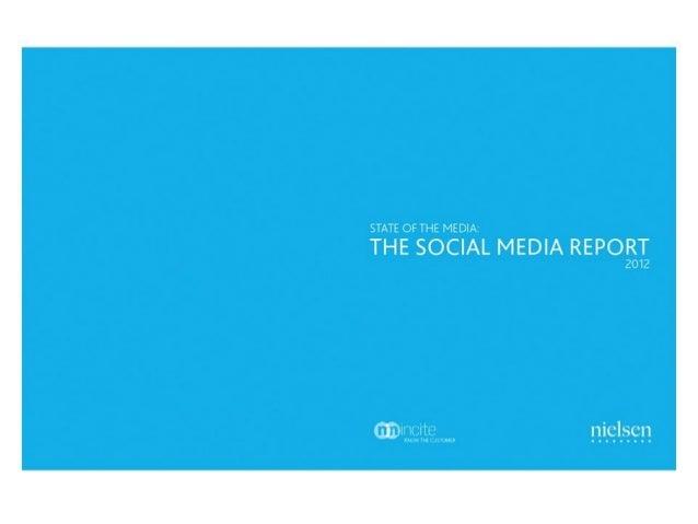 Nielsen • Social Media Report 2012