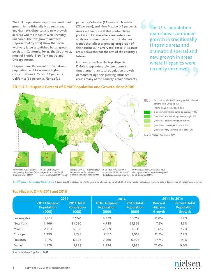 foto de Nielsen state of the hispanic consumer 2012
