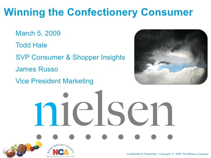 Winning the Confectionery Consumer March 5, 2009 Todd Hale SVP Consumer & Shopper Insights James Russo Vice President Mark...