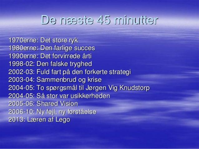 Niels lunde  miraklet i lego  oplæg for ktc20092013 (2) Slide 2