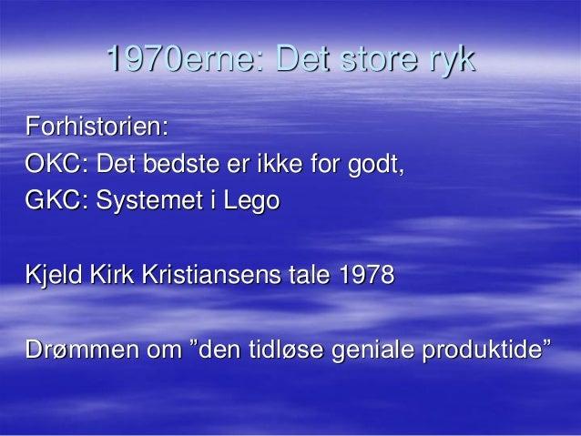 Niels lunde  miraklet i lego  oplæg for ktc20092013 (2) Slide 3