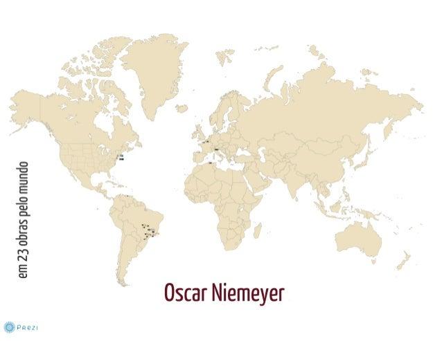 23 Obras de Oscar Niemeyer pelo mundo