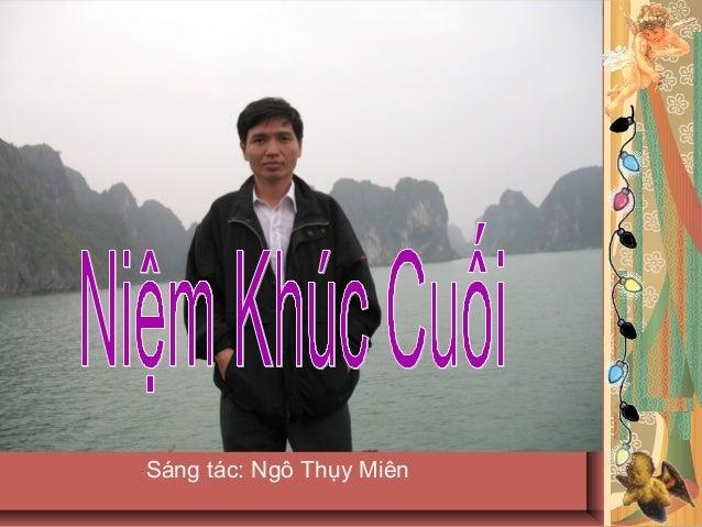 Sáng tác: Ngô Thụy Miên