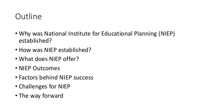 challenges of educational planning