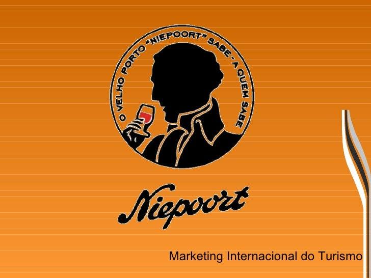 Marketing Internacional do Turismo