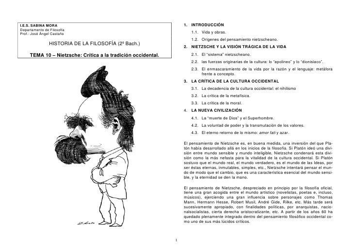 1. INTRODUCCIÓN I.E.S. SABINA MORA Departamento de Filosofía                                                              ...
