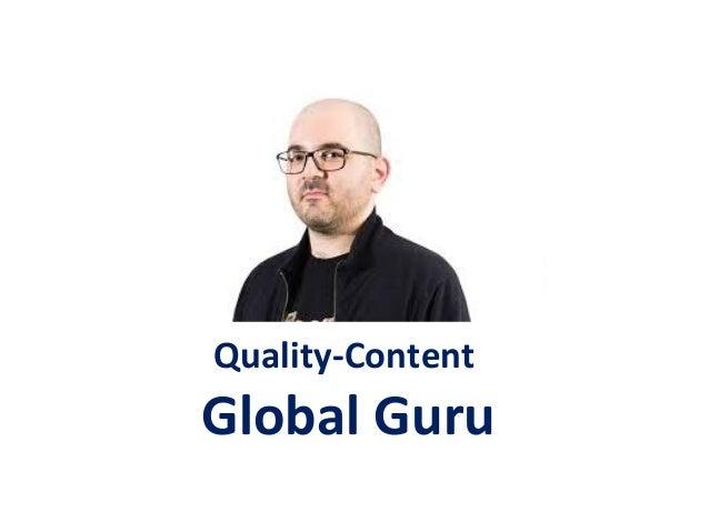 Quality-Content Global Guru