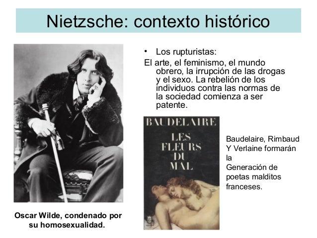 Nietzsche: contexto histórico • Los rupturistas: El arte, el feminismo, el mundo obrero, la irrupción de las drogas y el s...