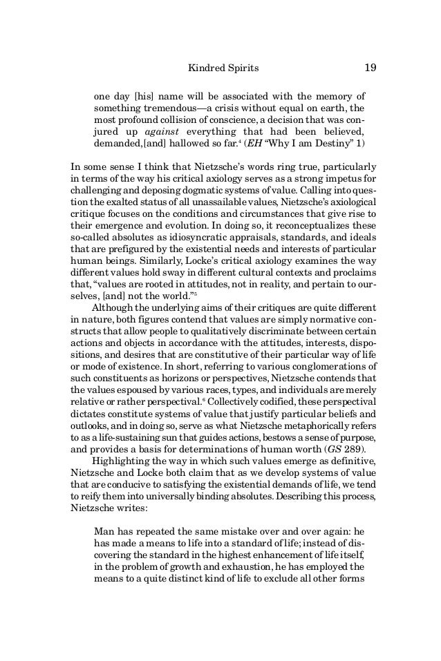 critical essay nietzsche The nook book (ebook) of the the existentialists: critical essays on kierkegaard, nietzsche, heidegger, and sartre by charles b guignon at barnes .