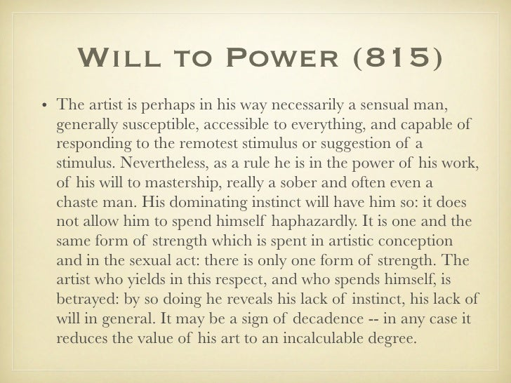 Will To Power Nietzsche Pdf