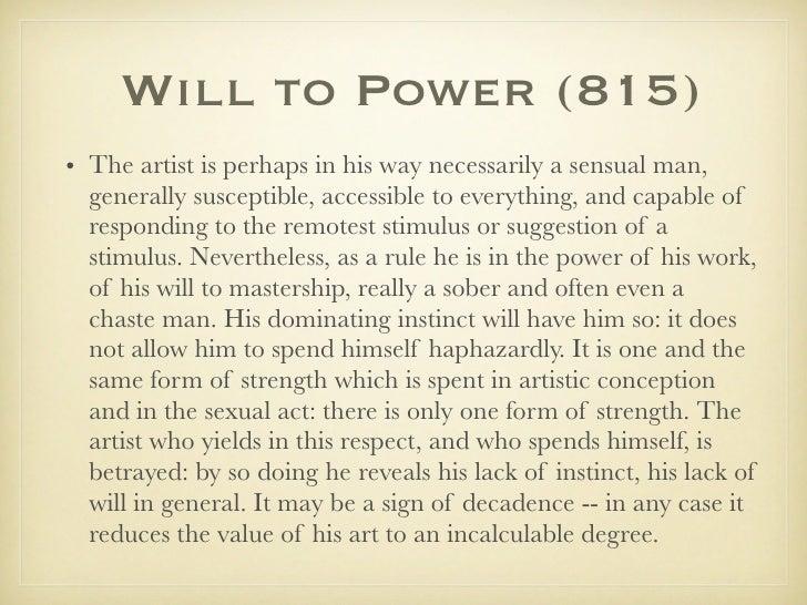 Will To Power Nietzsche Pdf