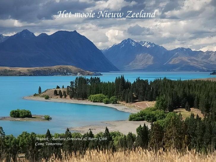 Het mooie Nieuw Zeeland Muziek - Barbara Streisend & Barry Gibb Come Tomorrow