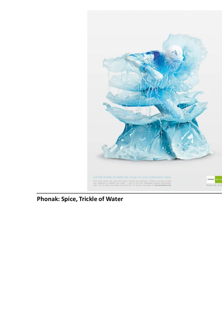 Phonak: Spice, Trickle of Water