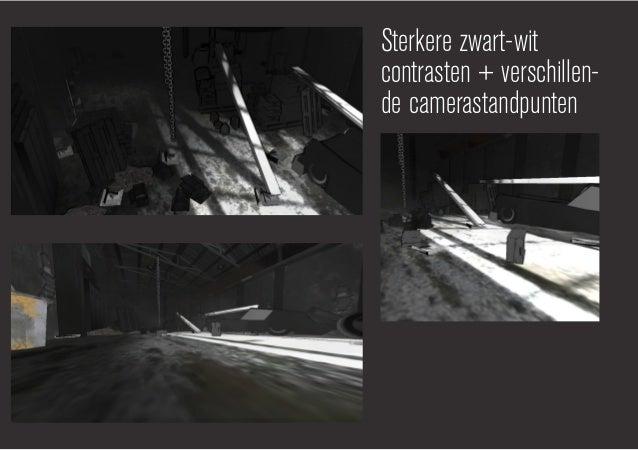 Camerastandpuntkikvorsperspectief:- geeft meer diepte- objecten tonen groter- vertekend beeldVogelperspectief:- geeft meer...