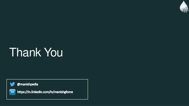 Thank You @manishpedia https://in.linkedin.com/in/manishgforce