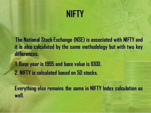nifty calculation Nifty pe ratio, pb ratio, dividend yield charts compare current nifty pe ratio, pb ratio & dividend yield values with historical values.