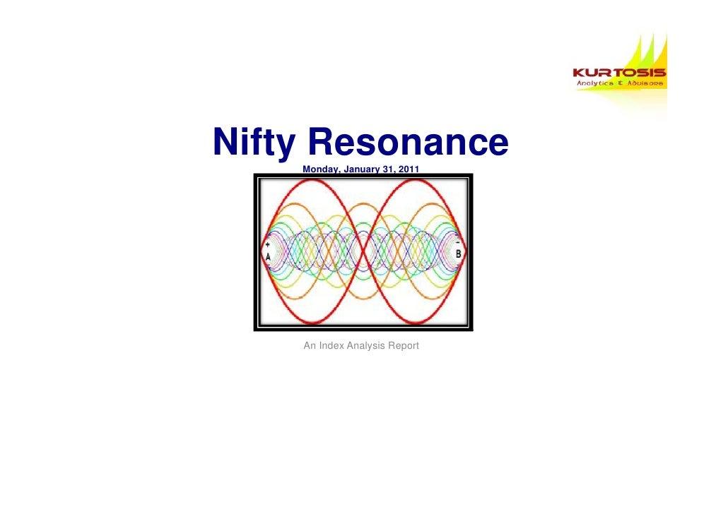 Nifty Resonance    Monday, January 31, 2011    An Index Analysis Report