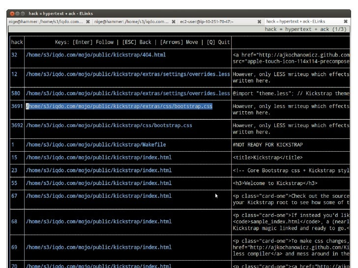 Nigel Hamilton - Hack = Hypertext + Ack