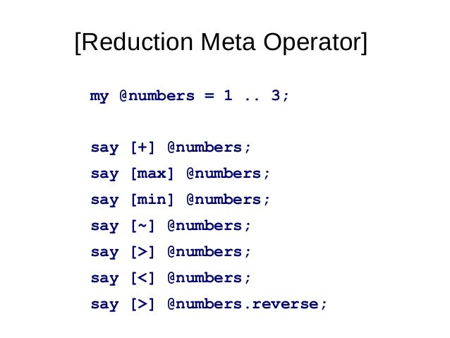"""Whipupitudemulti sub MAIN ($number-of-nodes) {say """"deploy to: $number-of-nodes nodes"""";}nige@hammer:~/megameet-talk$ perl6 ..."""