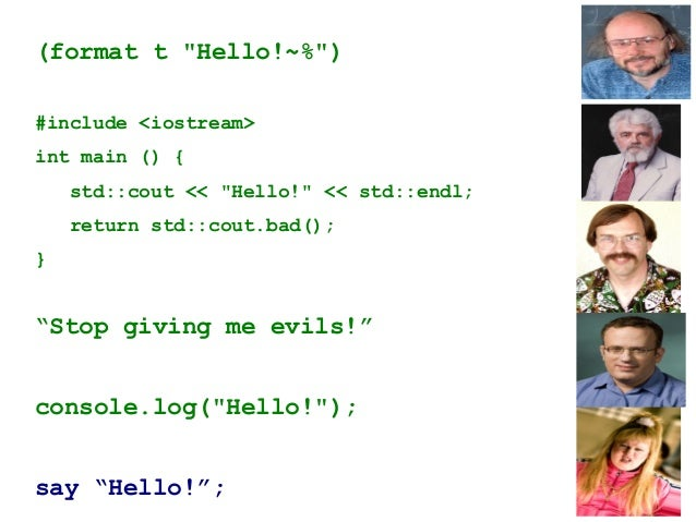 Perl5 <=> Perl6→