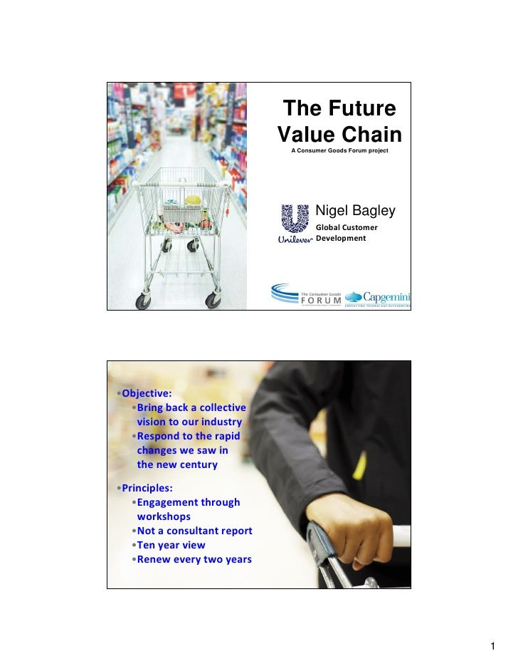 The Future                               Value Chain                                A Consumer Goods Forum project        ...