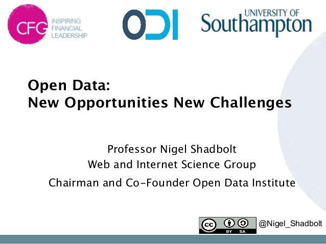 Open Data: 