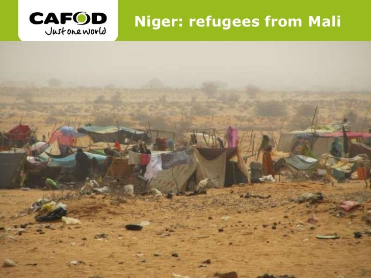 Niger: refugees from Mali
