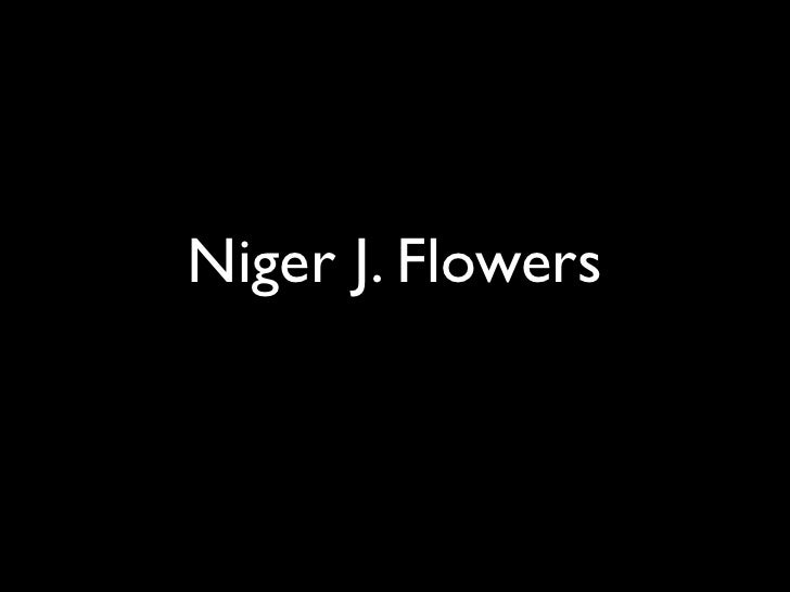 Niger J. Flowers