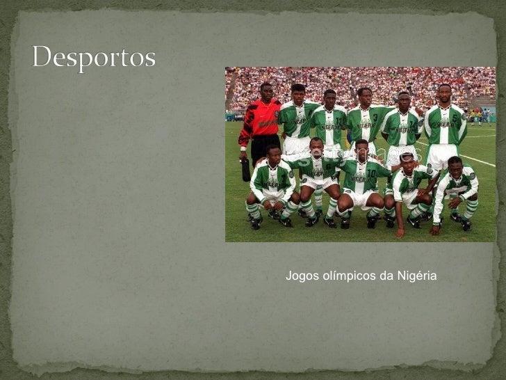 Jogos olímpicos da Nigéria
