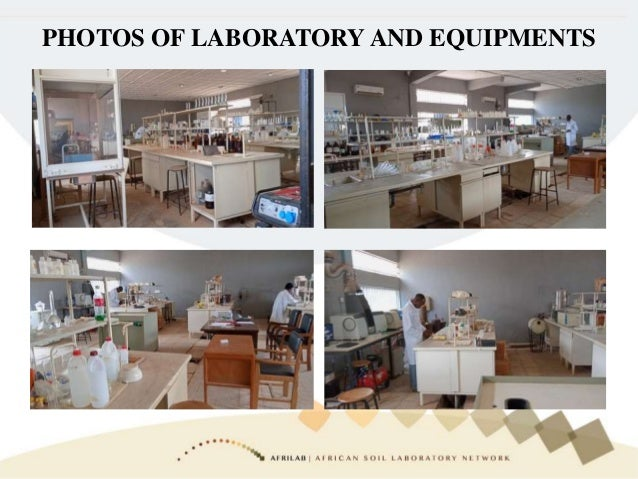PHOTOS OF LABORATORY AND EQUIPMENTS