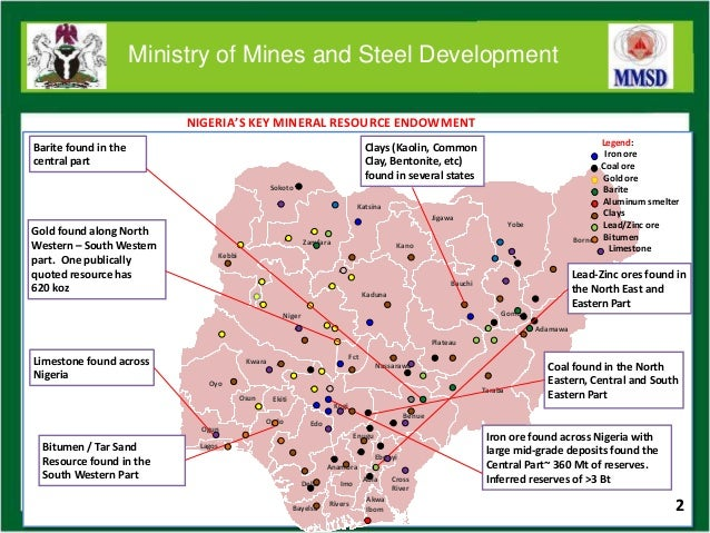 republic of nigeria investment opportunities in nigerias minerals and metals sector 3 638
