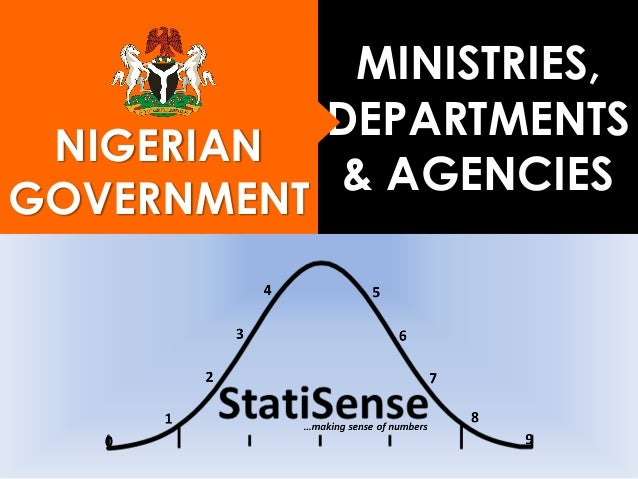 NIGERIAN GOVERNMENT MINISTRIES, DEPARTMENTS & AGENCIES