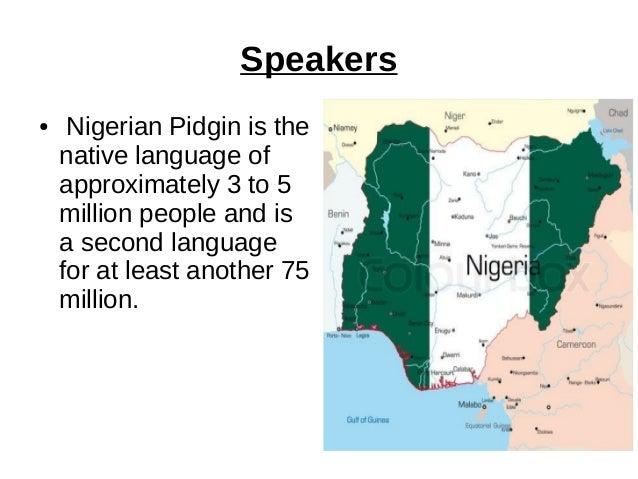 Nigerian pidgin - 62.7KB