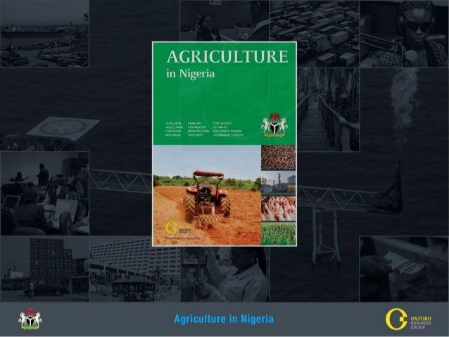 Agriculture In Nigeria