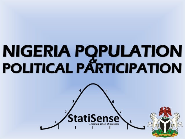 the politics of census in nigeria Census numbers in nigeria guide political redistricting, the distribution of oil revenues, and even civil service hiring (nigeria's constitution dictates that the.