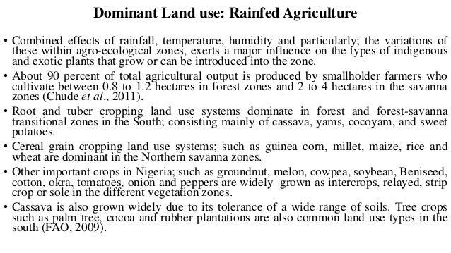 Pastoralism • In Nigeria Ruminant livestock are numerous and provide substantial quantities of animal protein. • Livestock...