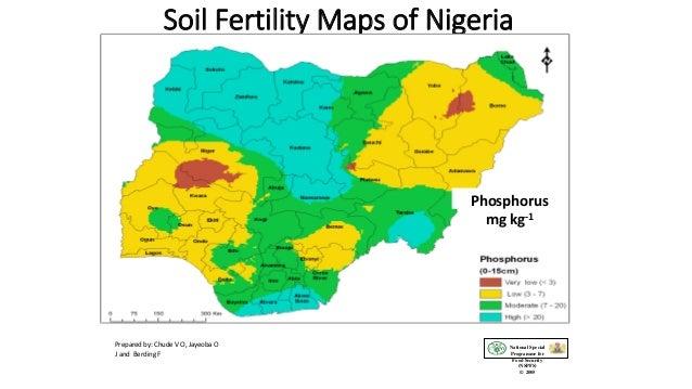 Soil Fertility Maps of Nigeria