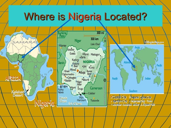 Nigeria Show - Where is nigeria located