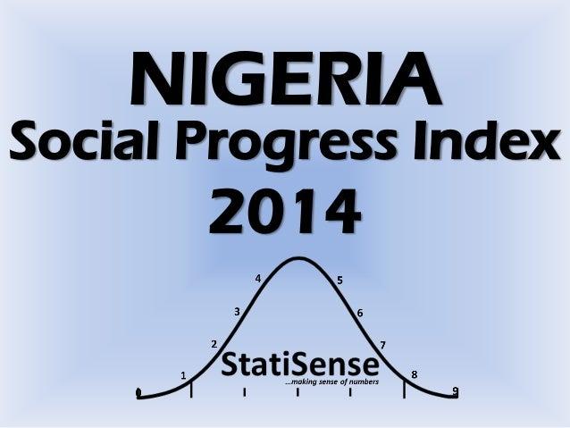 Social Progress Index NIGERIA 2014