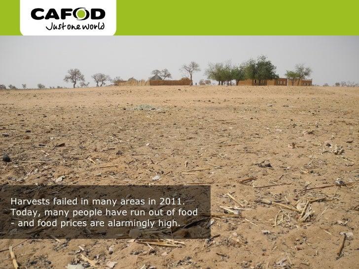 West Africa food crisis Slide 3