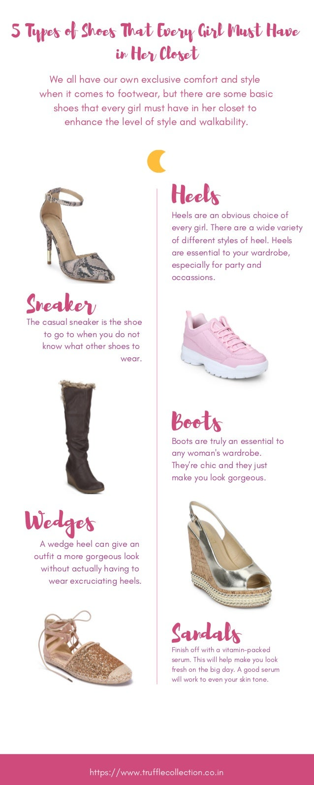305e22511 5 Types of Shoes That Every Girl Must Have in Her Closet