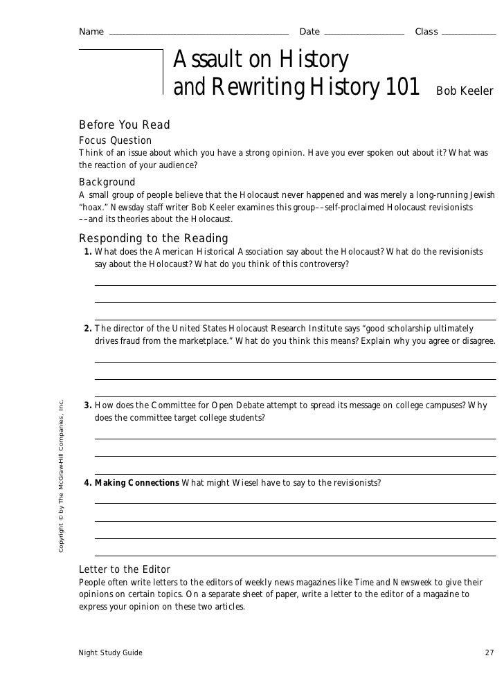 night questions for essay and discussion Essay questions for twelfth night, designed for the edexcel a level course  it  includes contextual discussion relating to queen elizabeth and.