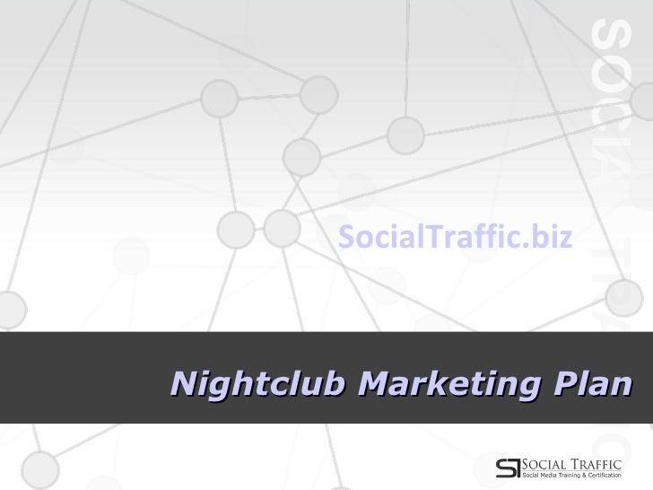 Marketing plan for a nightclub essay