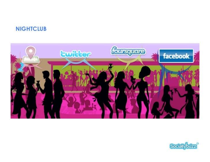 NIGHTCLUB SOCIAL MEDIA CREATIVE DEVELOPMENT SERVICES