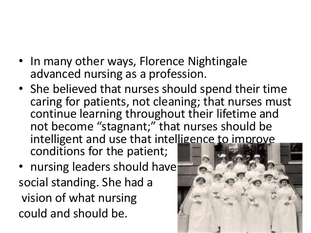 Florence Nightingale's Influence on Nursing