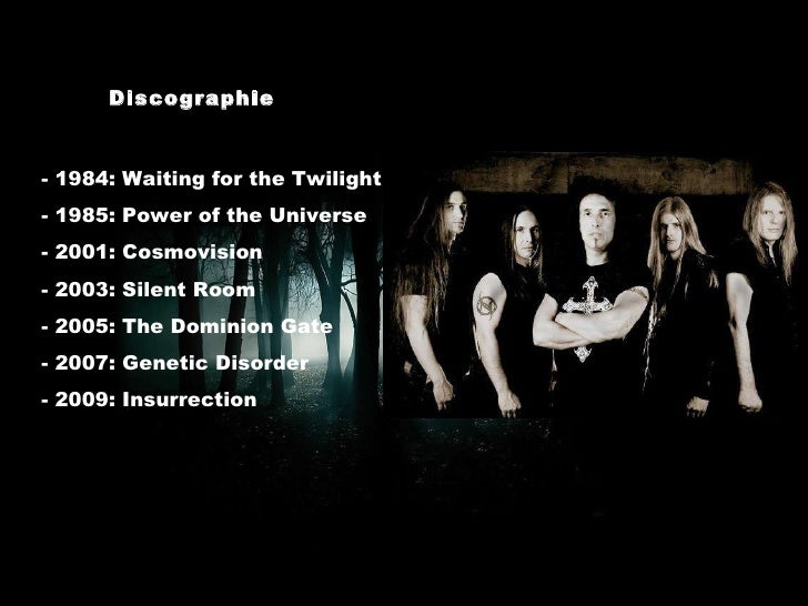 Discographie - 1984: Waiting for the Twilight - 1985: Power of the Universe - 2001: Cosmovision - 2003: Silent Room - 2005...