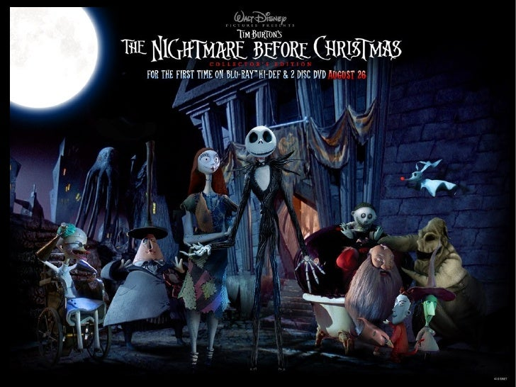 an anthropological view on the nightmare before christmas By emma louise backe for our readers that celebrate christmas, i wish you the  merriest of yuletide gatherings  the holiday is also a great excuse to binge eat  candy canes, watch  the nightmare before christmas (1993.