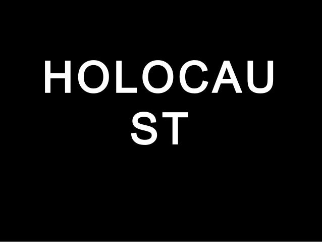 HOLOCAU ST