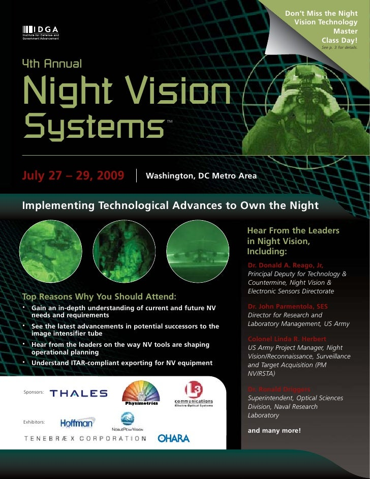 Don't Miss the Night                                                                                Vision Technology     ...