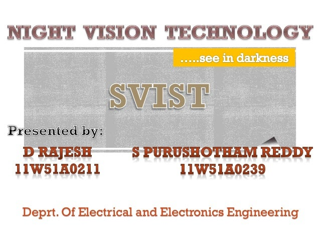 Deprt. Of Electrical and Electronics Engineering
